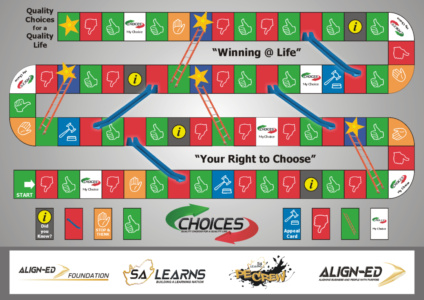 100 choices board game