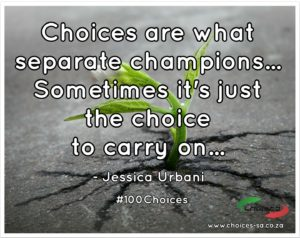 The Choice To Carry On