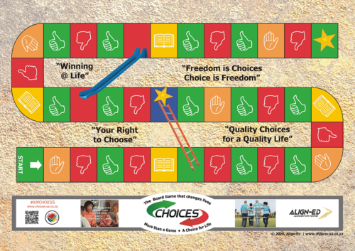 Choices Lite Board Game